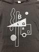 BELGRADO/T-SHIRT(ロゴデザイン・黒)