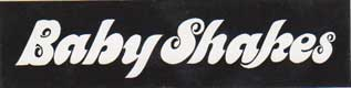 BABY SHAKES/ステッカー ロゴ