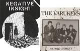 "NEGATIVE INSIGHT/ISSUE #1 W/VARUKERS 7"""
