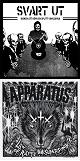 SVART UT // APPARATUS/SPLIT (LTD.200 BLACK VINYL)