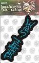 DEATH SIDE/オフィシャル刺繍パッチ(LOGO 2/横並び)