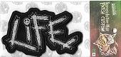 LIFE/オフィシャル刺繍パッチ
