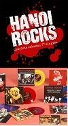 "HANOI ROCKS/COMPLETE JOHANNA 7"" SINGLES (LTD.550)"