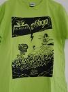 ABIGAIL×STUPID BABIES GO MAD/SPLIT CD記念Tシャツ (ライトグリーン)