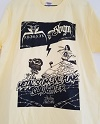 ABIGAIL×STUPID BABIES GO MAD/SPLIT CD記念Tシャツ (ライトイエロー)