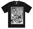 BASE22周年ライブ記念Tシャツ/YOSSIEデザイン (BLACK)
