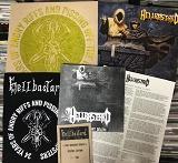 HELLBASTARD/THEY BROUGHT DEATH (LTD.100 BLACK SPECIAL EDITION)
