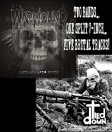 WARWOUND // TIED DOWN/SPLIT (LTD.300)