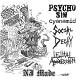 PSYCHO SIN // CYANAMID // SOCIAL DECAY // LETHAL AGGRESSION/NJ MADE (LTD.150 BLACK)