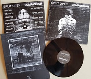 SPLIT OPEN // COMPASSION/DEMO SPLIT (LTD.50 W/EXTRA SLEEVE)