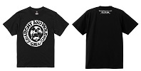 G.I.S.M./T-SHIRT (BADGE SKULL -ANARCHY AND VIOLENCE-)
