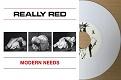 REALLY RED/MODERN NEEDS (LTD.100 WHITE)