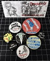DISCHARGE/OFFICIAL BADGE SET 2021 (バッジ8個セット)